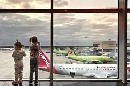 Premiera pentru Romania! Cel mai mare avion din lume aterizeaza pe Otopeni FOTO+VIDEO