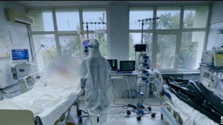 Imagini greu de <span style='background:#EDF514'>PRIVIT</span> din sectia ATI COVID din Timisoara. Mihai Gadea: Nu va arata nimeni! Asa arata lucrurile in spitalele din Romania!