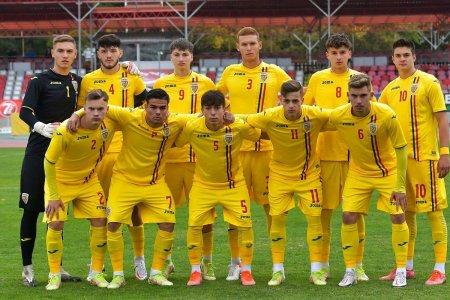 Romania U19, victorie in amicalul de astazi » A inscris jucatorul criticat recent de Gica Hagi
