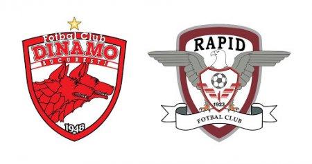 Cand se joaca derby-ul Dinamo-Rapid. Programul complet al etapelor 13 si 14