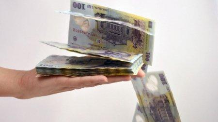 Ministerul Finantelor a imprumutat astazi de la banci 413 milioane de lei