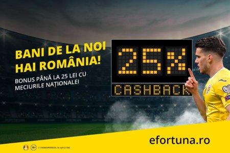 Bani de la noi! Striga Hai, Romania!, cu cea mai noua promotie cashback