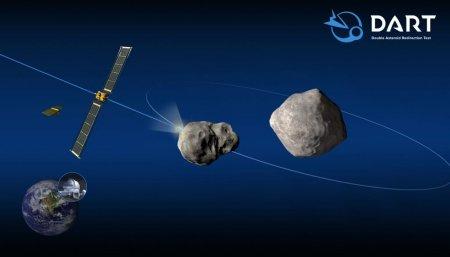 NASA lanseaza o naveta care va intra intentionat intr-un <span style='background:#EDF514'>ASTEROID</span> ca sa-i modifice orbita