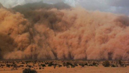 Imagini infioratoare in Brazilia! Furtunile de nisip au facut dezastru! Mai multi oameni au murit VIDEO