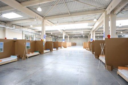 IMAGINI DIN SPITALELE PUSTII. 750 de paturi in modulare, destinate bolnavilor de COVID din Bucuresti, abandonate de autoritati