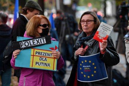 Polexit, sanctiuni financiare, tensiuni. Ce urmeaza dupa decizia dramatica care ridica miza conflictului Polonia-UE