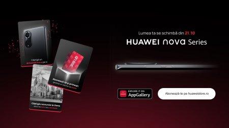 <span style='background:#EDF514'>HUAWEI</span> lanseaza pe 21 octombrie cele mai noi telefoane din seria Nova