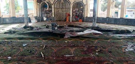 Cel putin 50 de persoane ucise, dupa un atac cu bomba asupra unei moschee din <span style='background:#EDF514'>AFGANISTA</span>n