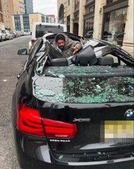 Un barbat s-a aruncat de la etajul al noualea, dar a supravietuit. Martor: Voia sa moara, dar Dumnezeu a avut altceva in minte (FOTO)