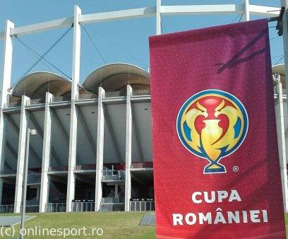 Orele de disputare pentru meciurile din optimile Cupei Romaniei