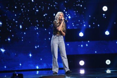 X Factor 2021, 8 octombrie. Larisa <span style='background:#EDF514'>OLARU</span> a interpretat piesa Call Out My Name si a surprins juratii la primele note
