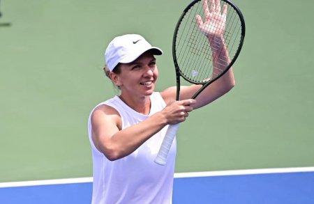 Simona Halep s-a calificat in turul trei, la Indian Wells. Emma Raducanu ar putea fi urmatoarea adversara