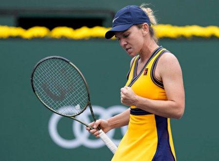 Simona Halep castiga cu Marta Kostyuk si merge in turul 3, la Indian Wells