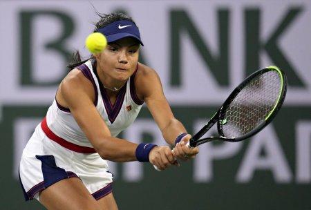 Emma Raducanu a fost eliminata in turul 2 de la Indian Wells si rateaza confruntarea cu Simona Halep