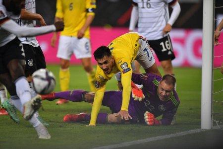 Golul doi a venit dupa o greseala indivi<span style='background:#EDF514'>DUAL</span>a » Cine a fost tras la raspundere dupa Germania - Romania