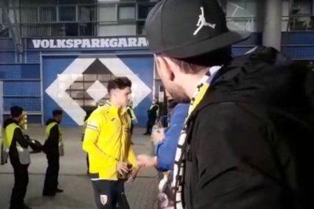 Ce nu s-a vazut la TV » Ce au facut fanii dupa Germania - Romania