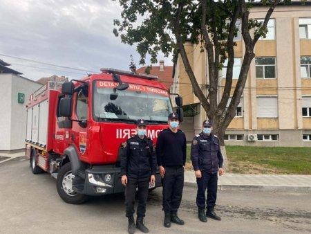 Pompierii nu mai pazesc Spitalului Victor Babes. Precizarile ISU Timis dupa ce a fost retrasa autospeciala
