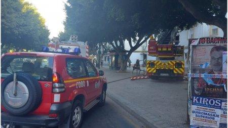 O romanca din Spania a vrut sa incendieze casa unei colege de munca, dar a g<span style='background:#EDF514'>RESIT</span> adresa. Trei persoane au fost ranite