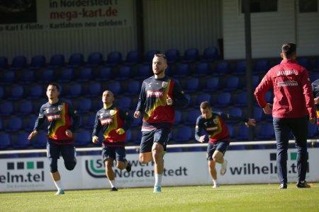 Tricolorii s-au antrenat in Germania inaintea revenirii la Bucuresti