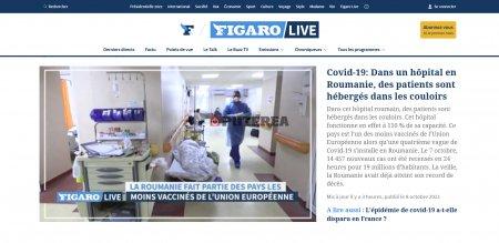 Le Figaro: Reportaj la Institutul Matei Bals , unde sunt pacienti cu Covid care <span style='background:#EDF514'>PRIMESC</span> tratamentul pe holuri