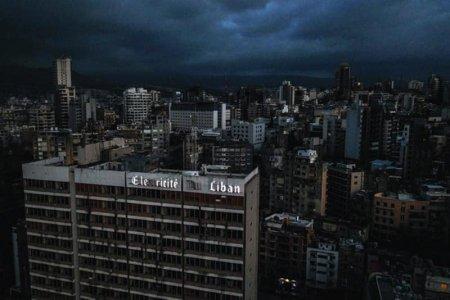 Libanul e in pana generala de curent, principalele centrale electrice nu mai au carburanti