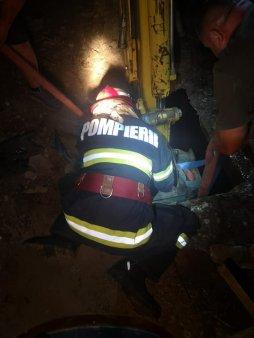 Barbat mort intr-un incendiu intr-o camera de hotel din Focsani