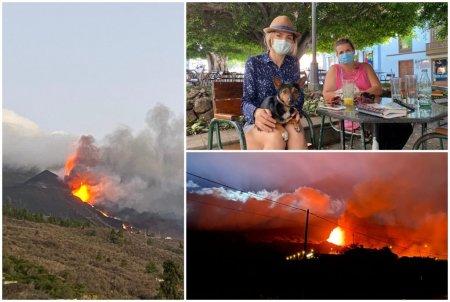 Marturia unor romance din La Palma, dupa <span style='background:#EDF514'>ERUPTIA</span> vulcanului: Ne-am trezit cu Garda Civila la usa, ca avem 15 minute sa plecam