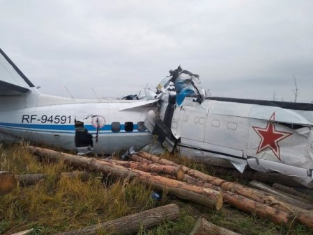 VIDEO 16 morti si sapte raniti dupa ce un avion rusesc s-a prabusit in regiunea Tatarstan