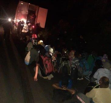 126 de migranti, gasiti incuiati intr-un container, in Guatemala