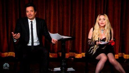 Madonna s-a dat in spectacol intr-o emisiune televizata. Doamne, opreste-te! Nu stiu ce sa fac!