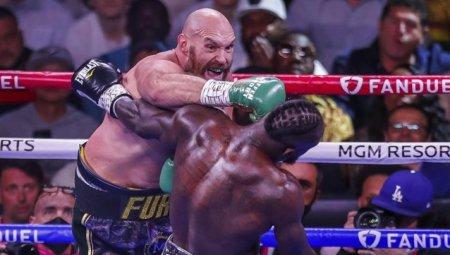 Domnia lui Tyson Fury in boxul profesionist! Britanicul l-a facut praf pe Deontay <span style='background:#EDF514'>WILD</span>er si ramane campion la categoria grea
