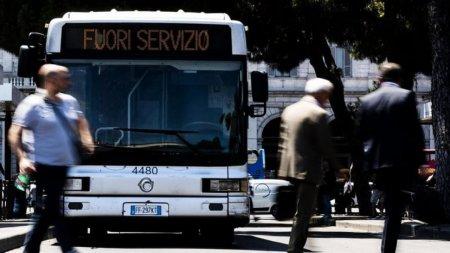 Greva generala in <span style='background:#EDF514'>TRANSPORTUL</span> feroviar, aerian, maritim si local din Italia. MAE, avertizare de calatorie