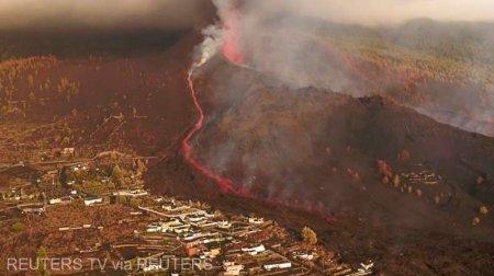 Locul in care pamantul se zguduie: Blocuri de lava de marimea unei cladiri (VIDEO)