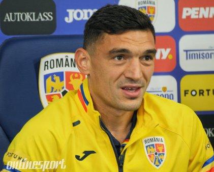 <span style='background:#EDF514'>CLAUDIU</span> Keseru, pregatit sa le dea gol armenilor. Era sa nu recunoasca noul stadion Steaua
