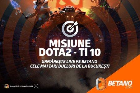 A inceput Campionatul Mondial de DOTA 2, gazduit la Bucuresti! Sustine-ti favoritii pe Betano