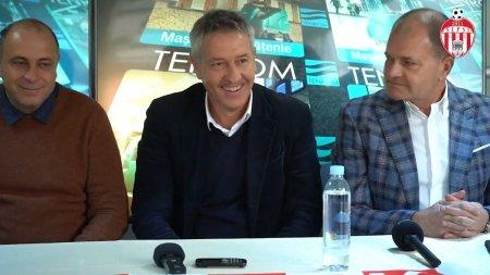 Cristiano <span style='background:#EDF514'>BERGODI</span>, prezentat oficial la Sepsi » Primele declaratii ale antrenorului italian :Revin cu placere in Romania sa antrenez acest club