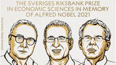 <span style='background:#EDF514'>PREMIUL</span> Nobel pentru Economie a fost castigat de trei cercetatori, pentru contributiile empirice la economia muncii