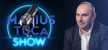Marius Tuca Show, ora 19:00, la Aleph News. Invitati: Florin Piersic Junior si Ion Cristoiu