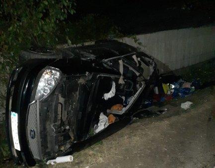 Accident grav in Giurgiu: doi bulgari au murit, alti trei sunt grav raniti, dupa ce un sofer fara permis a intrat intr-un TIR