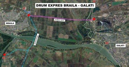 Au inceput lucrarile la drumul Expres Braila-Galati