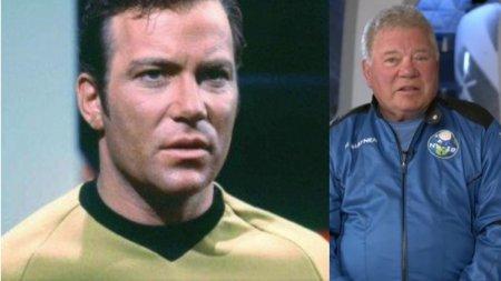 Capitanul Kirk din Star Trek a dezvaluit de ce pleaca in spatiu la 90 de ani, intr-o zi de 13, la bordul <span style='background:#EDF514'>NAVE</span>i lui Jeff Bezos