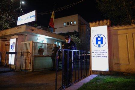 Un pacient suspect de COVID a fost adus decedat la Spitalul Victor Babes din Bucuresti. Sotia lui, infectata cu coronavirus, murise duminica
