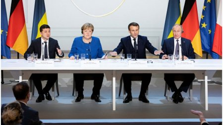 Franta, Germania, Ucraina, Rusia, intalnire la nivel ministerial cu privire la incheierea conflictului ucrainean