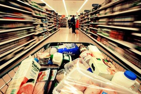 Cum se vede inflatia in doar o luna in cosul de alimente?