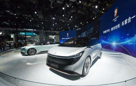 Evergrande planuieste sa vanda masini electrice in 2022. Actiunile diviziei auto, in crestere cu peste 5%