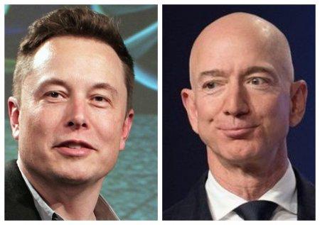 <span style='background:#EDF514'>ELON MUSK</span> l-a depasit din nou pe Jeff Bezos. Fondatorul Tesla este cel mai bogat om din lume