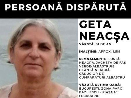 Alerta persoana disparuta! O asistenta medicala nu a mai revenit acasa. Rudele o cauta