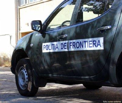 Botosani: Politistii de frontiera au tras focuri de arma pentru <span style='background:#EDF514'>PRINDERE</span>a unui suspect de contrabanda