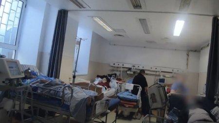Asa arata un dezastru sanitar! Imagini cumplite din spitalele romanesti, ajunse in presa straina