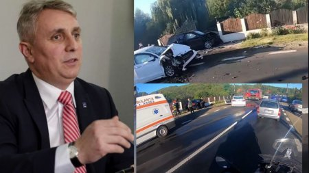 A fost clasat <span style='background:#EDF514'>DOSARUL</span> accidentului in care a fost implicata masina cu care circula ministrul Lucian Bode